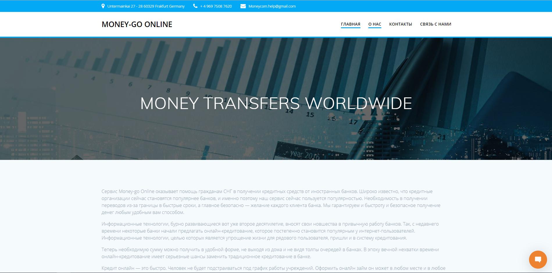 кредит онлайн моней